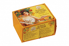 Fluffy Belyevskaya Pastila Orange